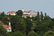 Elbe bei Loschwitz, Weisser Hirsch, Dresden, Sachsen, Deutschland.|.Dresden, Germany, river Elbe near Loschwitz, White Stag