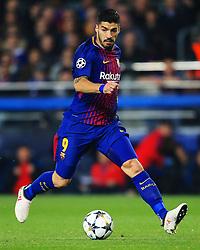 Luis Suarez of Barcelona - Mandatory by-line: Matt McNulty/JMP - 14/03/2018 - FOOTBALL - Camp Nou - Barcelona, Catalonia - Barcelona v Chelsea - UEFA Champions League - Round of 16 Second Leg