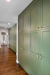 1025 Windswept home built in hall cabinets