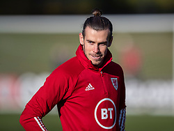 CARDIFF, WALES - Monday, November 18, 2019: Wales' captain Gareth Bale during a training session at the Vale Resort ahead of the final UEFA Euro 2020 Qualifying Group E match against Hungary. (Pic by David Rawcliffe/Propaganda)
