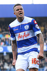 QPR's Jermaine Jenas  - Photo mandatory by-line: Mitchell Gunn/JMP - Tel: Mobile: 07966 386802 01/03/2014 - SPORT - FOOTBALL - Loftus Road - London - Queens Park Rangers v Leeds United - Championship