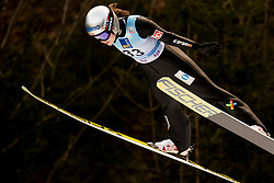 February 8, 2019 - Anna Odine Stroem of Norway on first competition day of the FIS Ski Jumping World Cup Ladies Ljubno on February 8, 2019 in Ljubno, Slovenia. (Credit Image: © Rok Rakun/Pacific Press via ZUMA Wire)