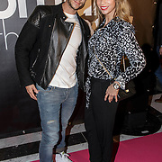 NLD/Amsterdam/20141215- Glamour Woman of the Year 2014, guy van der Reijden en partner Renee Vervoorn