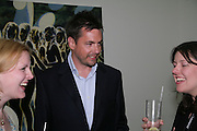 NICHOLAS FITCH, private view  of new exhibition by Tim Stoner , Alison Jacques Gallery in new premises in Berners St., London, W1 ,Afterwards across the rd. at the Sanderson Hotel. 3 May 2007. DO NOT ARCHIVE-© Copyright Photograph by Dafydd Jones. 248 Clapham Rd. London SW9 0PZ. Tel 0207 820 0771. www.dafjones.com.
