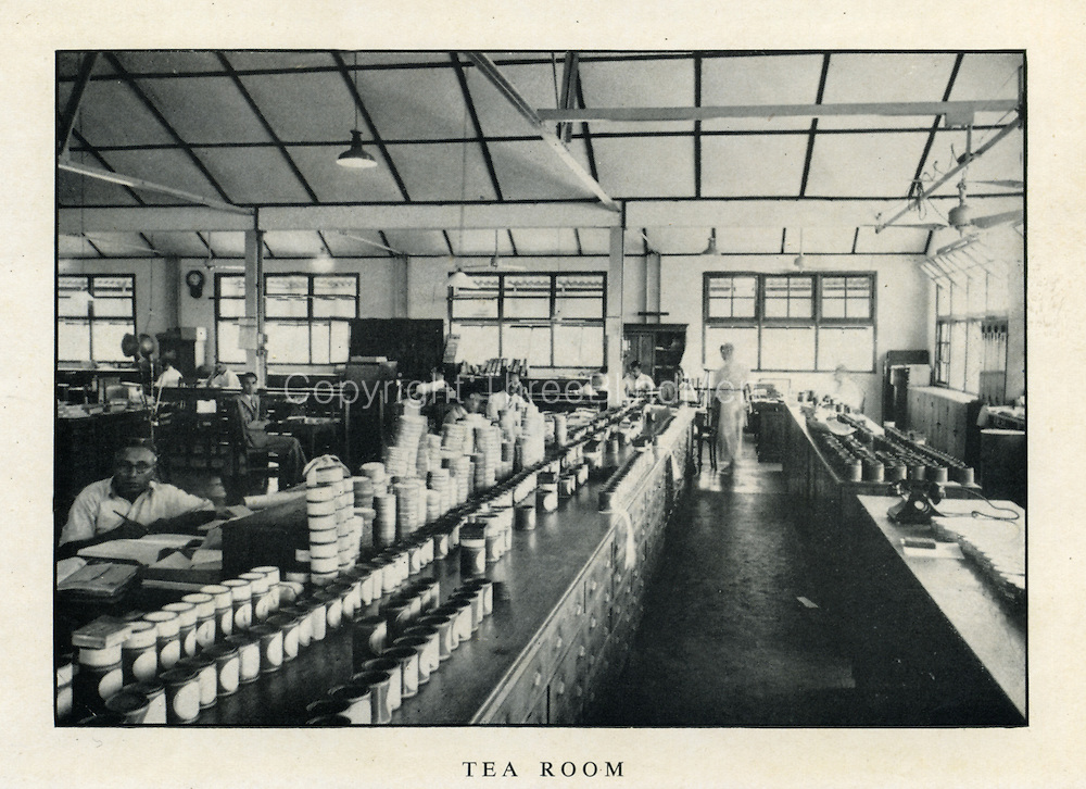 Dodwell & Co. Tea Tasting room.