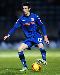 Rochdale's Scott Tanser   - Photo mandatory by-line: Matt McNulty/JMP - Mobile: 07966 386802 - 17.01.2015 - SPORT - Football - Rochdale - Spotland Stadium - Rochdale v Crawley Town - Sky Bet League One