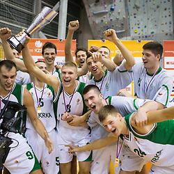 20120925: SLO, Basketball - Superpokal, KK Krka vs KK Union Olimpija