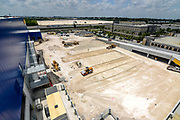 Construction work continues in Miami at the second largest Ikea store in United States. Miami, Florida. U.S. Photographer: Christina Mendenhall/Bloomberg ***Local Caption*** Commercial Construction