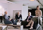Novedrate, Como, B&B, da sn Emanuele Busnelli CEO italia Contract Division, Massimiliano Busnelli Product Developer, Francesca Busnelli Srea Manager, Giorgio Busnelli  presidente e AD