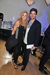 LAURA COMFORT and ADRIAN ALLEN at the Swarovski Whitechapel Gallery Art Plus Fashion fundraising gala in support of the gallery's education fund held at The Whitechapel Gallery, 77-82 Whitechapel High Street, London E1 on 14th March 2013