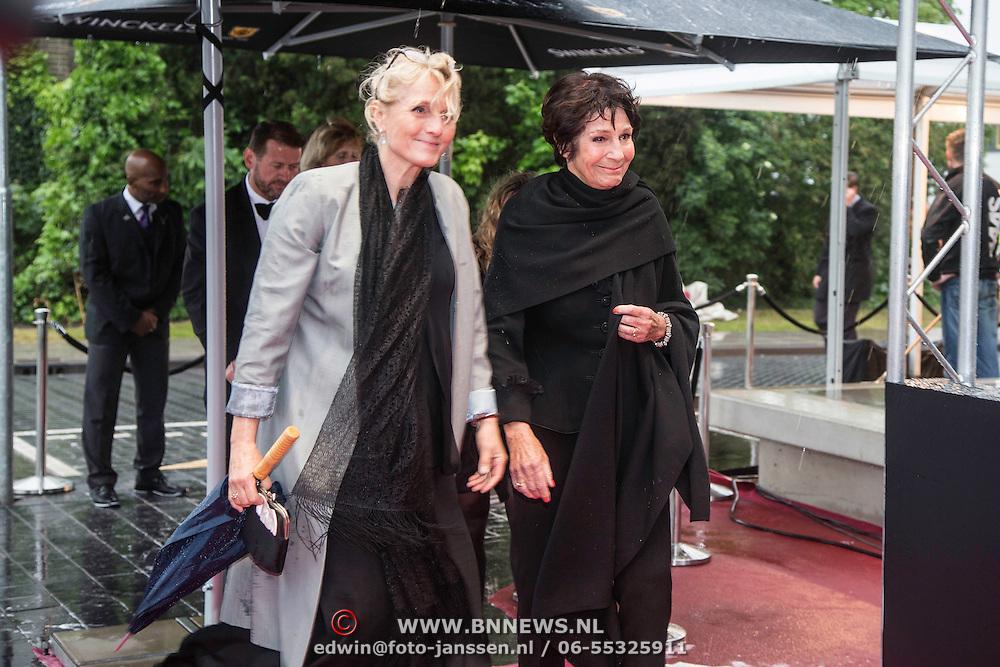 NLD/Amsterdam/20140508 - Wereldpremiere Musical Anne, Mies Bouwman