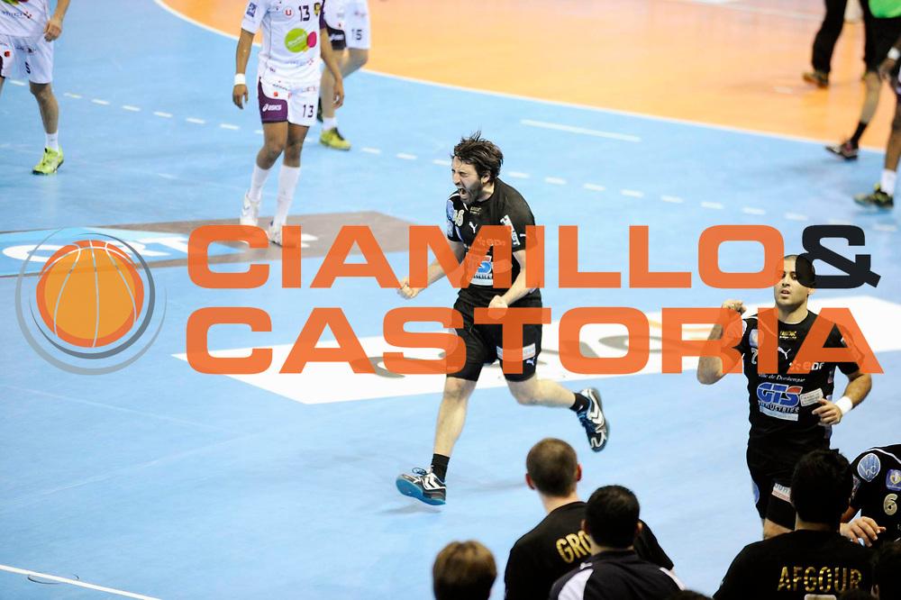 DESCRIZIONE :  Hand D1 Coupe de la Ligue Finale a Toulouse<br /> GIOCATORE : Mohamed MOKRANI<br /> SQUADRA : Dunkerque<br /> EVENTO : Hand D1 Coupe de la Ligue <br /> GARA : Nantes Dunkerque<br /> DATA : 09/12/2012<br /> CATEGORIA : Hand D1 <br /> SPORT : Handball<br /> AUTORE : JF Molliere <br /> Galleria : France Hand 2012-2013 Action<br /> Fotonotizia : Hand D1 Coupe de la Ligue Finale a Toulouse<br /> Predefinita :
