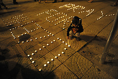 MAR 10 2014  Vigil for passengers aboard a missing Malaysia Airlines