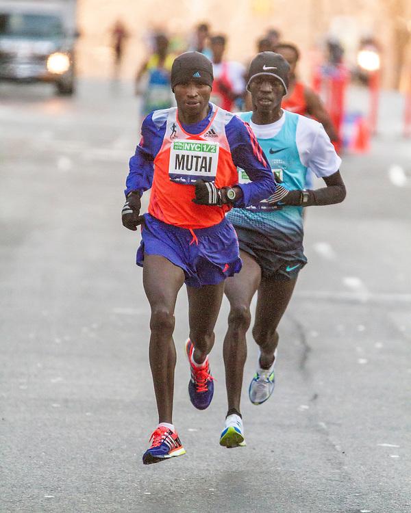 Geoffrey Mutai, Stephen Sambu,