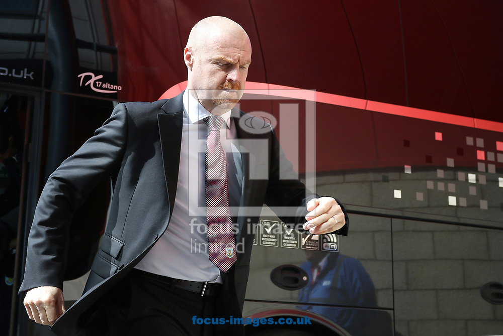 Burnley Manager Sean Dyche before the Premier League match at the Riverside Stadium, Middlesbrough<br /> Picture by Robert Smith/Focus Images Ltd 07837 882029<br /> 08/04/2017