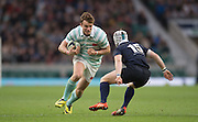 Twickenham, United Kingdom. IIia CHEREZOV, running with the ball, 2015 Men's Varsity Match, Oxford vs Cambridge, RFU Twickenham Stadium, England.<br /> <br /> Thursday  10/12/2015<br /> <br /> [Mandatory Credit. Peter SPURRIER/Intersport Images].