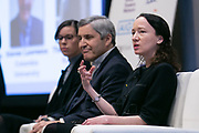 Theresa Purcell, Kushner spekaing at Advisen's Property Insurance Insights Conference in New York City on November 21, 2019. (Photo: www.JeffreyHolmes.com)
