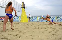 20-08-2000 NED: NK BEACH 2000 SCHEVENINGEN<br /> Erna Everaert- van Doorn