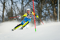 """Anna Swenn-Larsson (SWE) during FIS Alpine Ski World Cup 2016/17 Ladies Slalom race named """"Snow Queen Trophy 2017"""", on January 3, 2017 in Course Crveni Spust at Sljeme hill, Zagreb, Croatia. Photo by Žiga Zupan / Sportida"""