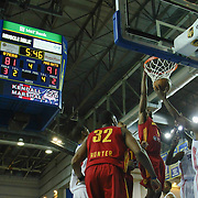 Fort Wayne Mad Ants Forward Chris Porter (4) dunks in the second half of a NBA D-league regular season basketball game between the Delaware 87ers and The Fort Wayne Mad Ants Sunday, Dec. 15, 2013 at The Bob Carpenter Sports Convocation Center, Newark, DE
