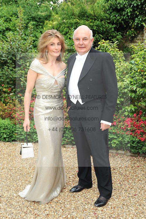 ROLF & MARYAM SACHS at the Raisa Gorbachev Foundation Party held at Stud House, Hampton Court Palace on 5th June 2010.  The night is in aid of the Raisa Gorbachev Foundation, an international fund fighting child cancer.