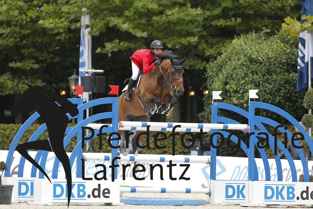 Said, Abdel, Dakota<br /> Paderborn - Paderborn Challenge 2014<br /> Eröffnungsspringen<br /> © www.sportfotos-lafrentz.de/ Stefan Lafrentz