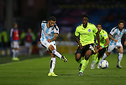 Huddersfield Town striker Nahki Wells during the Sky Bet Championship match between Huddersfield Town and Brighton and Hove Albion at the John Smiths Stadium, Huddersfield, England on 18 August 2015.