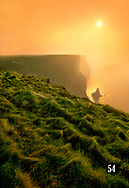 Cliffs of Moher just after sunrise