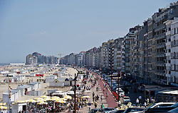 The Belgian coastal town of Knokke on the North Sea.
