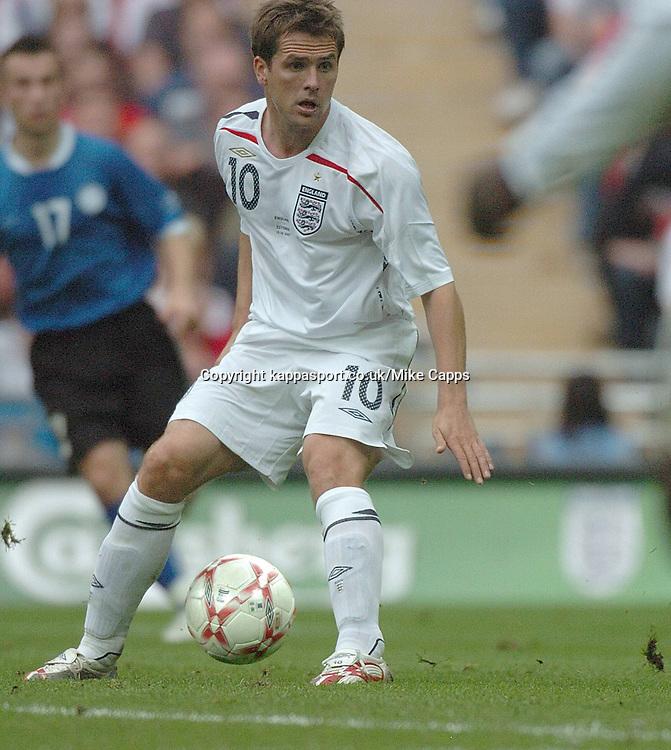 MICHAEL OWEN ENGLAND, England - Estonia, UEFA European Championships 2008, Wembley, 13/10/2007