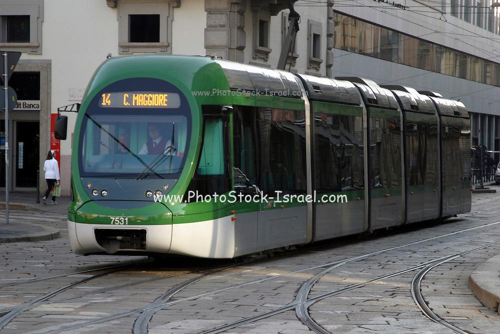 Italy, Milan, Tram