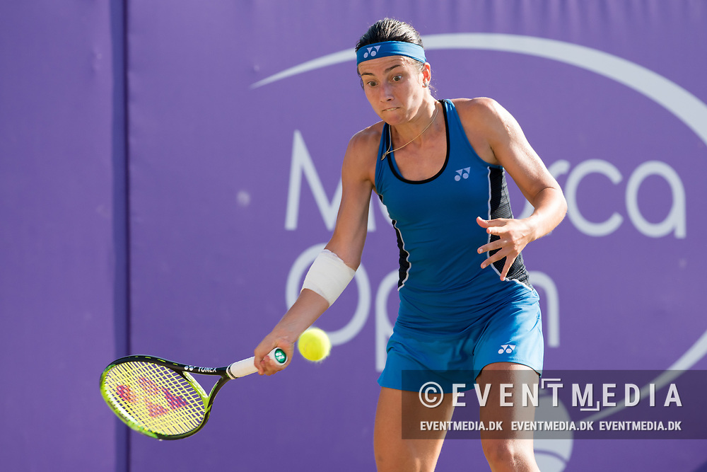Anastasija Sevastova (LAT) during the Mallorca Open at Country Club Santa Ponsa on June 22, 2018 in Mallorca, Spain. Photo Credit: Katja Boll/EVENTMEDIA.
