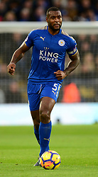 Wes Morgan of Leicester City - Mandatory by-line: Alex James/JMP - 18/11/2017 - FOOTBALL - King Power Stadium - Leicester, England - Leicester City v Manchester City - Premier League