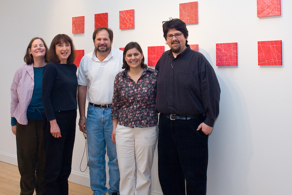 From Left to right - Elaine Scheer, Frances Myers, Jim Escalante, Kathleen O'Connell and John Hitchcock.
