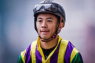 Jockey Derek Leung at morning Barrier Trails at Happy Valley Racecourse on January 20, 2018 in Happy Valley Hong Kong. (Photo: Alex Evers)