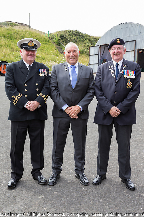 74th Anniversary of the Dieppe Raid (19 August 1942) Memorial Service held at Newhaven Fort and the Canadian War Memorial. Attended by Veterans, dignitaries and guests. Organised by Canadian Veterans Association (Brighton Branch) and Newhaven Council.