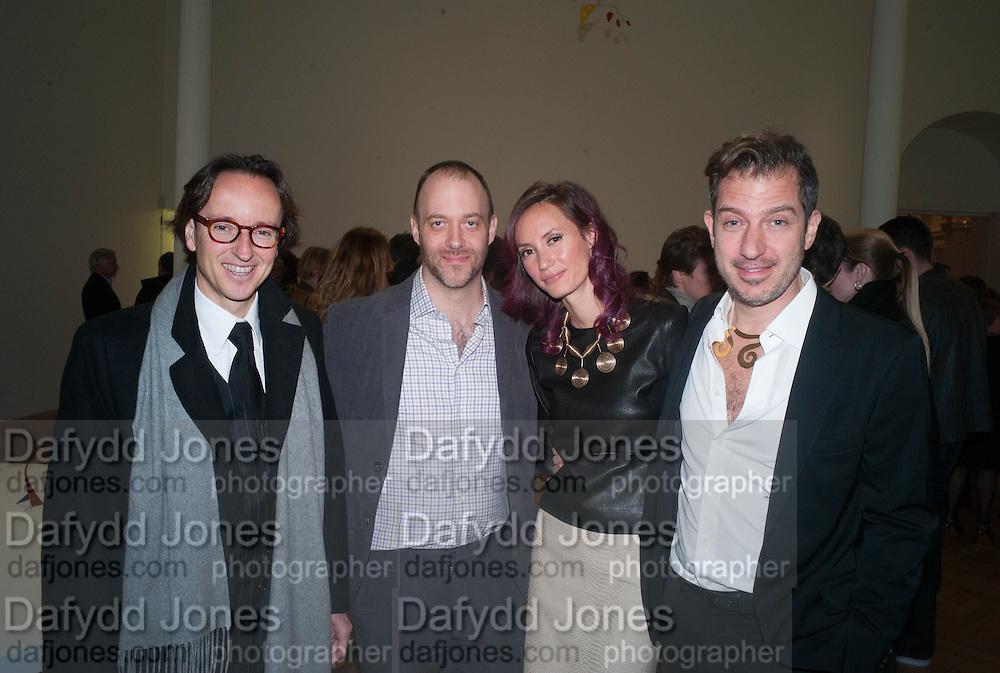 JOAN PUNYET MIRO; WILL RYMAN; ELAN GENTRY; SANDY ROWER, Calder After The War. Pace London. Burlington Gdns. London. 18 April 2013.