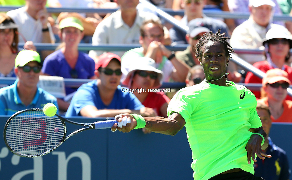 30.08.2014. Flushing Meadows, New York, USA. US Open tennis championships.  Gael Monfils (FRA)