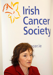 Repro Free: 17/12/2012.Pictured Kathlenn O'Meara, Head of Advocacy and Communications, Irish Cancer Society (ICS) pictured speraking as the Irish Cancer Society held a press conference in relation to the number of Cancer patients needing cash support for necessities. Applications to the Irish Cancer Society's financial aid scheme have increased by 36% in the last three years and the Society now provide over ?1 million a year to cancer patients who need financial help. Pic Andres Poveda.
