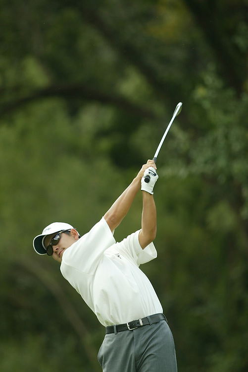 Akio Sadakata..2003 Valero Texas Open..Westin La Cantera Resort..San Antonio, TX..Saturday, September 27 2003..photograph by Darren Carroll