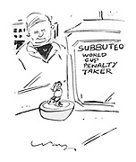 (Subbuteo World Cup Penalty Taker Game)