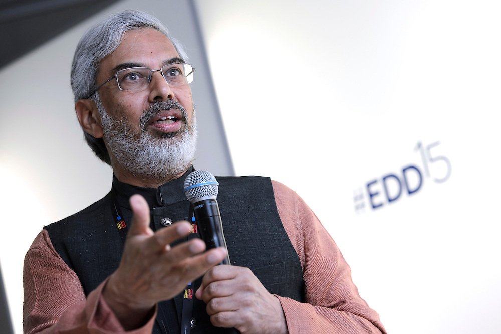 03 June 2015 - Belgium - Brussels - European Development Days - EDD - Climate - The unbearable cost of business as usual - Kartikeya Sarabhai , Founding Director of the Centre for Environment Education (CEE) © European Union