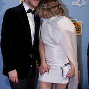 NLD/Amsterdam/20150119 - Premiere film Homies, Robert de Hoog en Victoria Koblenko