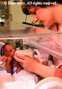 Medical Pre-mature Infant Care, Hospital Incubator, Nurse