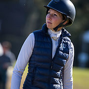 Kendal Lehari (CAN) at the Red Hills International Horse Trials in Tallahassee, Florida.