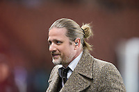 Emmanuel Petit - 04.03.2015 - PSG / Monaco - 1/4Finale Coupe de France<br /> Photo : Andre Ferreira / Icon Sport