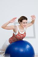 Kinesitherapy, invigoration thoracic spine, backache (model-released)