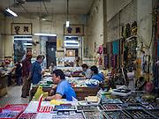 06 JUNE 2015 - KUALA LUMPUR, MALAYSIA: A market for amulets, gems and jewelry in the Chinatown section of Kuala Lumpur.    PHOTO BY JACK KURTZ