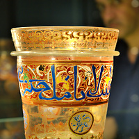 "London ""7th March 2009 Sotheby ' s Art of the Islamic World Sale on April 1st  The Sale include  a Rare Maniluk Glass Bucket known at the  Rotschild Bucket  expected to sale between £ 600,000 and 800,000..Standard Licence feee's apply  to all image usage.Marco Secchi - Xianpix tel +44 (0) 845 050 6211 .e-mail ms@msecchi.com .http://www.marcosecchi.com"