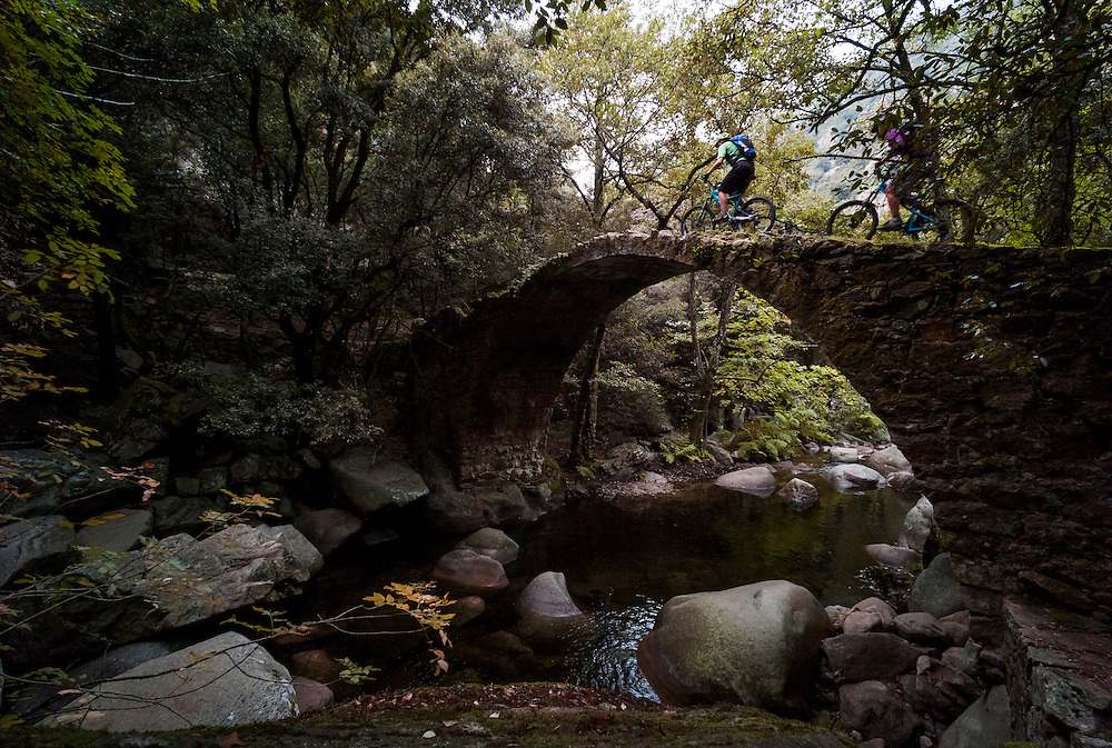 Greg Watts & Mike Foster, Mare-e-Mar Nord trail, Corsica, France,
